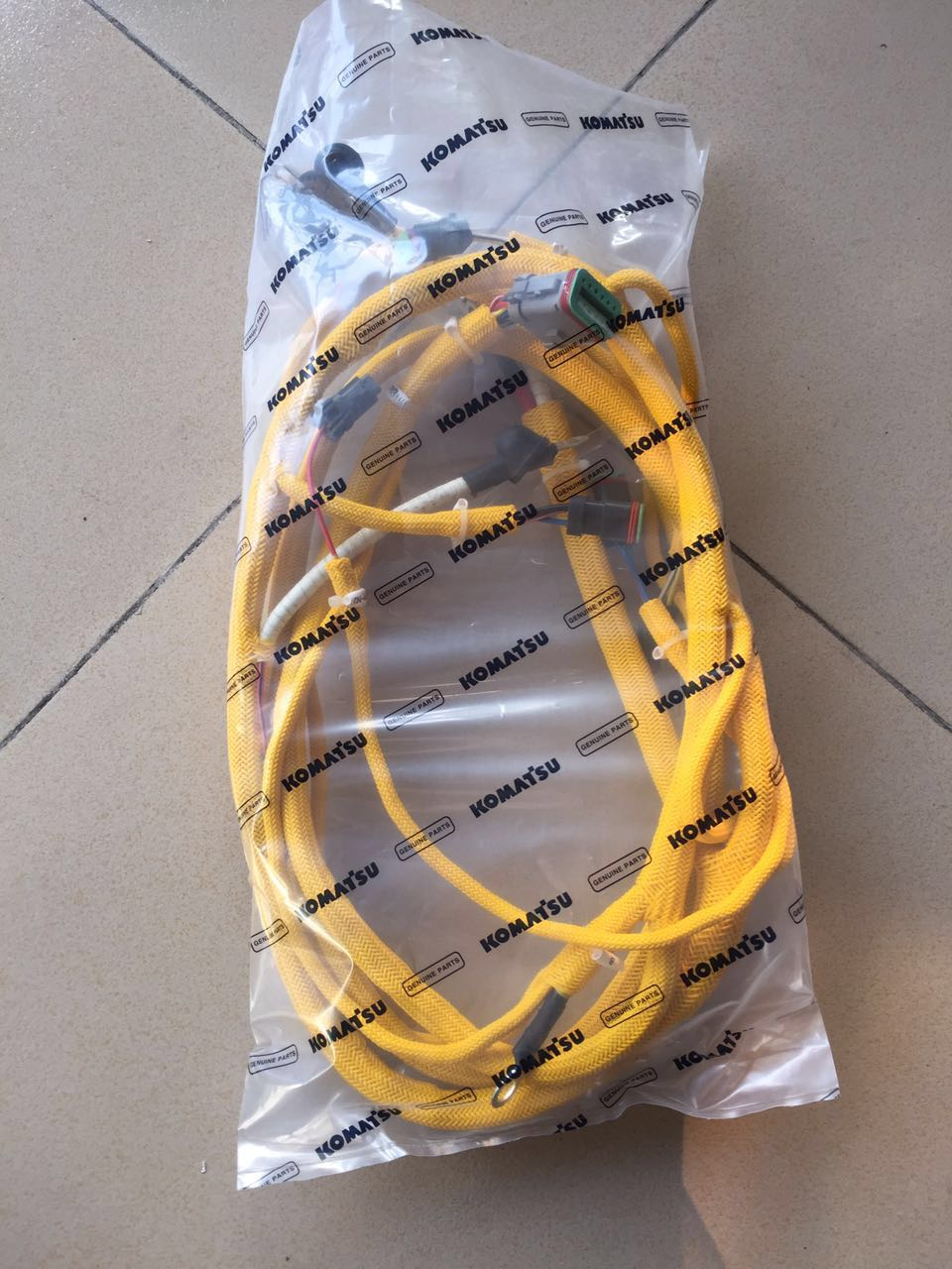 Wiring Harness 6743 81 8310 For Pc300 7 Excavator Komatsu 7pc360 7for Engine Saa6d114e